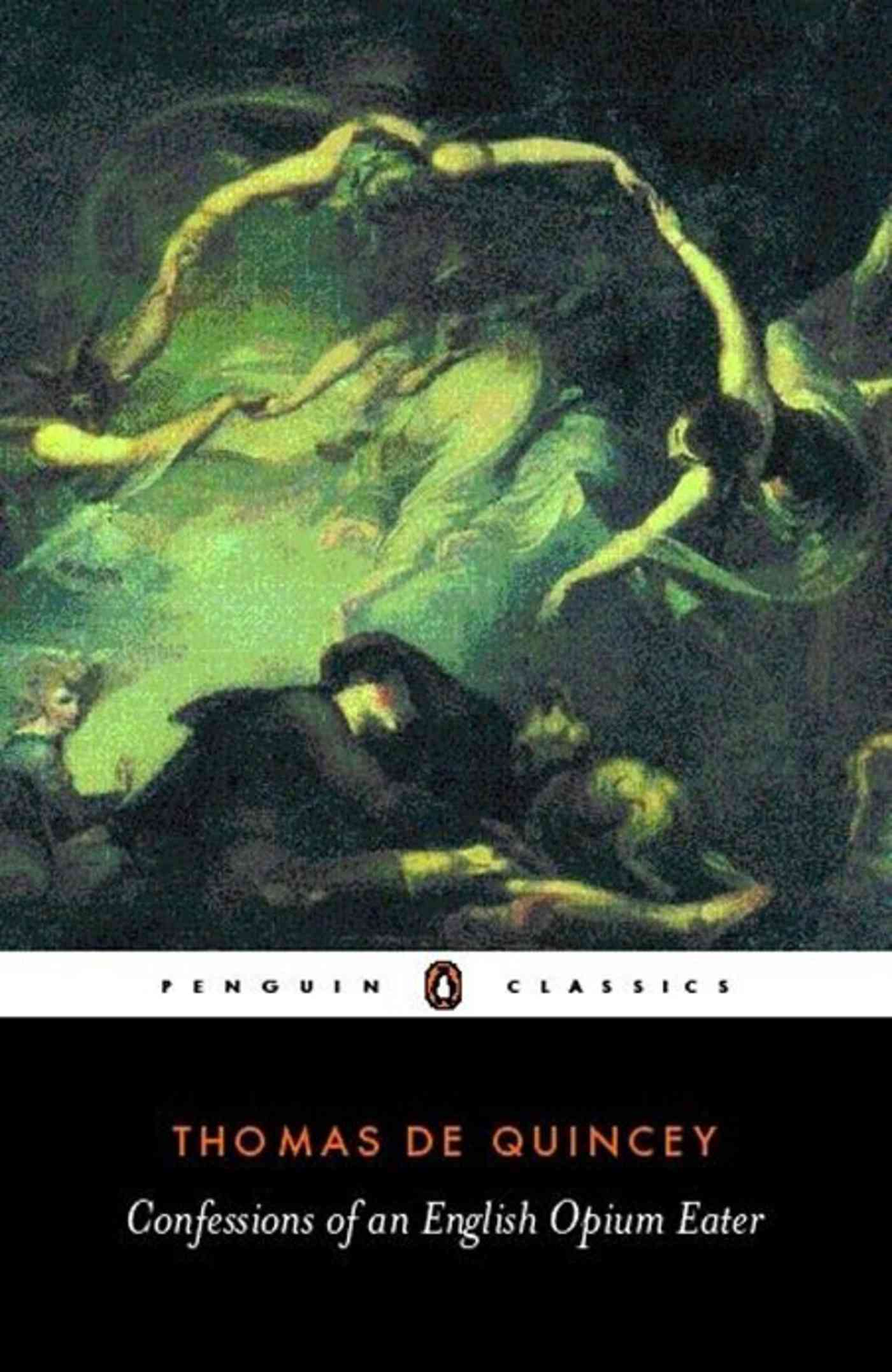 Confessions of an English Opium Eater By De Quincey, Thomas/ Milligan, Barry (EDT)/ Milligan, Barry